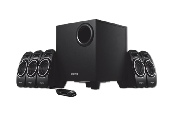 CREATIVE CL-A250 - 2.1 MULTIMEDIA SPEAKER SYSTEM  BLACK