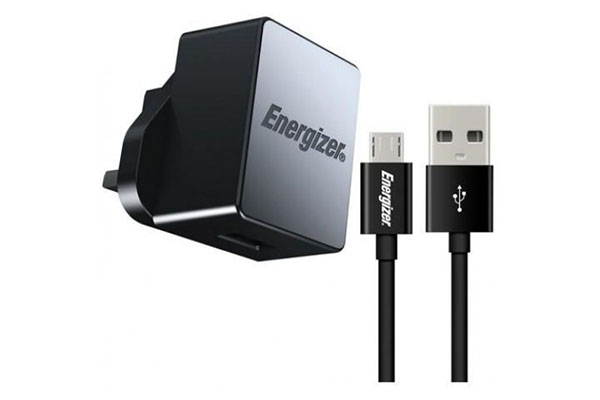ENERGIZER HIGH-TECH WALL CHARGER WITH MICRO USB QC 2.0 1 USB UK BLACK- ACA1QUKHMC3