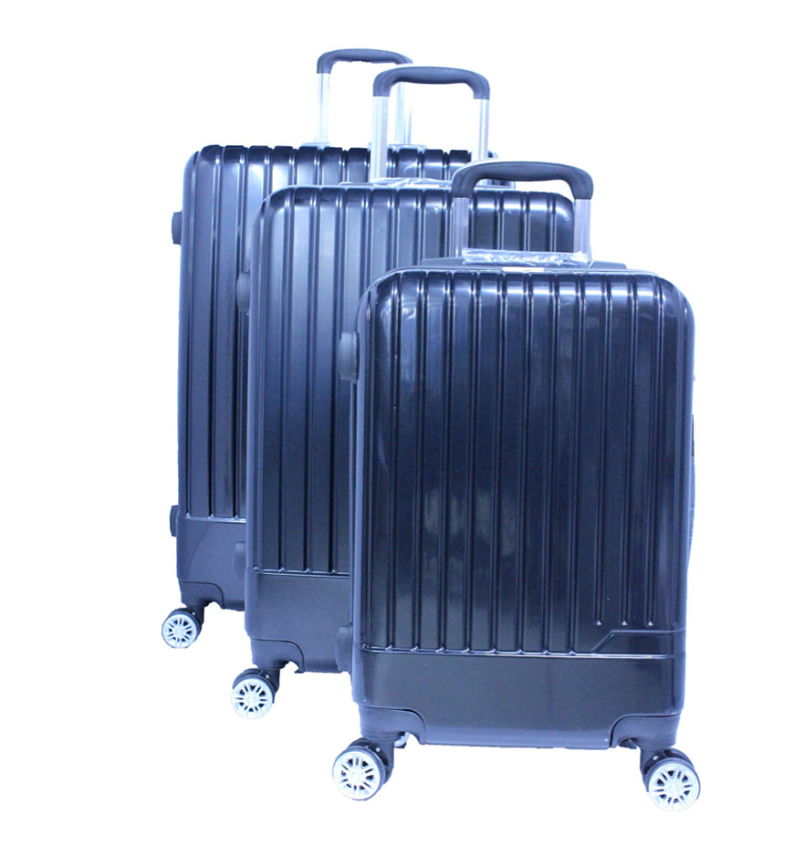 PLATINUM UNBREAKABLE HARD TRAVEL TROLLEY BAG SET 3 PCS - RA8655