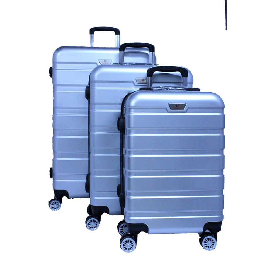 PLATINUM UNBREAKABLE HARD TRAVEL TROLLEY BAG SET 3 PCS - RA8728
