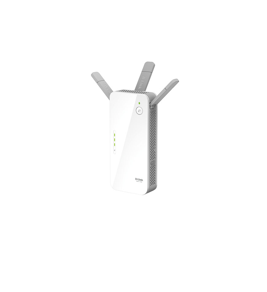 D-LINK AC1750 WIFI RANGE EXTENDER WITH HIGH SPEED MODE AND INTELLIGENT SIGNAL INDICATOR - DAP-1720