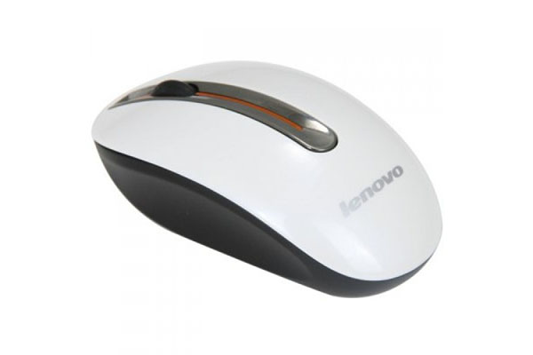 LENOVO WIRELESS MOUSE N3903 - METALLIC - ENAMEL-WHITE